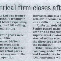 Hadleigh: electrical retailer B V Hicks to close after 54 ye...