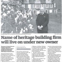 Name of Norwich heritage builder WS Lusher - which worked on...